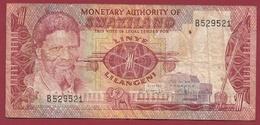 Swaziland 1 Lilangeni 1974 Dans L 'état - Swaziland
