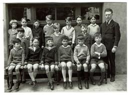 Institut St Louis 72 Rue De Spa (St Josse) - 1932 - Classe De M. Robert - Ecole Garçons - 2 Scans - Anonymous Persons