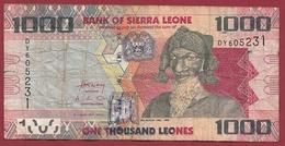 Sierra Leone 1000 Leones Du 04/08/2013 Dans L 'état - Sierra Leona