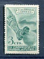 Soccer WC 1950 Uruguay  Perf 11   MNH***XVF  Football - Fußball-Weltmeisterschaft