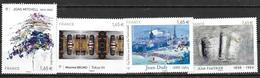 France 2014 N° 4837- 4849 - 4885 Et 4888 Neufs Série Artistique à La Faciale - France