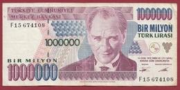 Turquie  1000000 Lira 1995 (Sign#) Dans L 'état - Turkey