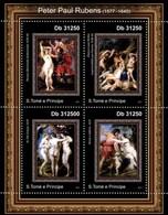 Sao Tome And Principe, 2011. [st11220] Painting, Peter Paul Rubens - Rubens
