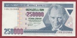 Turquie  250000 Lira 1992 Dans L 'état - Turkey