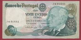 Portugal 20 Escudos Du 13/09/1979 Dans L 'état - Portogallo