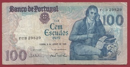 Portugal 100 Escudos Du 04/06/1985 Dans L 'état - Portogallo