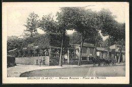CPA Brunoy, Maison Arnoux, Place De L`Arrivee - Brunoy