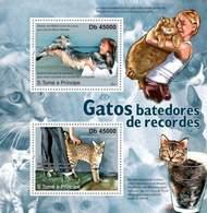 Sao Tome And Principe, 2011. [st11322] Cats - Hunde