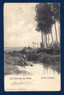 Virton. Pêcheurs Sur La Vire à Chenois. Ca 1900 - Virton