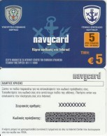 GREECE - Ministry Of Defense/Navy General Staff, ACN Internet Prepaid Card 5 Euro, Tirage 1000, Sample - Army