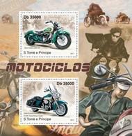 Sao Tome And Principe, 2011. [st11326] Motorcycles - Moto