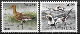 Islande 1988 N° 644/645 Neufs Oiseaux - 1944-... Republique