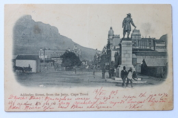 Adderley Street From The Jetty, Cape Town, South Africa, 1903 (creased) - South Africa