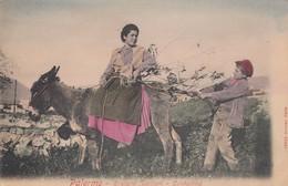 PALERMO-COSTUMI SICILIANI-CARTOLINA NON VIAGGIATA ANNO 1900-1904 - Palermo