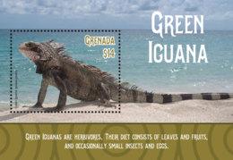 Grenada  2019  Fauna Green Iguana  I201901 - Grenada (1974-...)