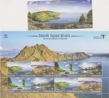 Indonesia 2017 Tourism Destination Of Indonesia—Mountains/Beachs/Landscapes (SS+sheetlet) MNH - Indonesia