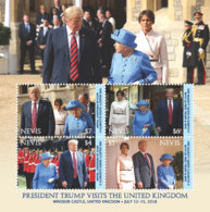 Nevis  2018   PRESIDENT TRUMP VISITS THE UNITED KINGDOM I201901 - St.Kitts And Nevis ( 1983-...)