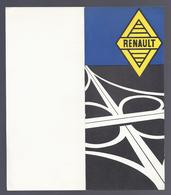 UITNODIGING RENAULT 1962 R4 DAUPHINE ONDINE GORDINI FLORIDE ESTAFETTE GARAGE DE SMET ASSEBROEK BRUGGE - Voitures