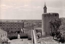 Aigues Mortes La Tour De Constance Et Le Chateau  CPM Ou CPSM - Aigues-Mortes