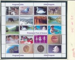 Kosovo Bogen Von 2006 **  (bg2525  ) Siehe Scan - Kosovo