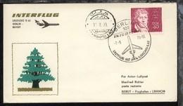 Interflug-Erstflug-Bf. Berlin-Beirut 7.8.1970 - Ohne Zuordnung