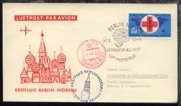 Interflug-Erstflug-Bf. Berlin-Moskau 1.9.1963 - Ohne Zuordnung