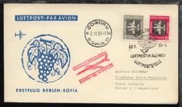 Interflug-Erstflug-Bf. Berlin-Sofia 3.9.1963 - Ohne Zuordnung