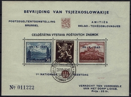 BELGIE Belgien -CSSR AS15** / Lidické Lidice / Belgie 1945 / Ceskoslovensk / Bratislava 1937 - Czechoslovakia