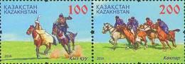 Kazakhstan 2016. IV Festival Of National Sports.  Mi.#985-986Zd. MNH - Kazakistan