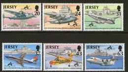 JERSEY, 1997 AIRPORT ANNIVERSARY 6 MNH - Jersey