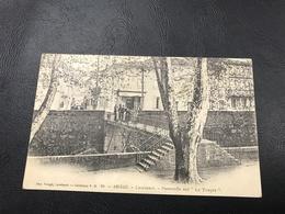 49 - ARIEGE - LAVELANET Passerelle Sur «Le Touyre» - 1903 Timbrée - Lavelanet