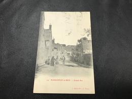 174 - MARSANNAY LE BOIS Grande Rue - 1904 Timbrée - Other Municipalities