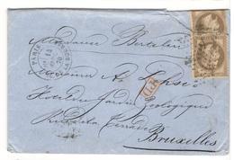 18786 - 5 Jours Avant  Ballons Montés - Poststempel (Briefe)