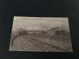 IS SUR TILLE La Gare - Depot Du P.L.M - 1916 - Is Sur Tille