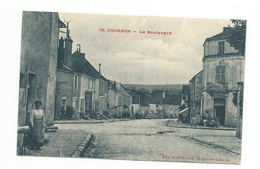 89 - YONNE -COURSON Les CARRIERES - Le Boulevard - Courson-les-Carrières