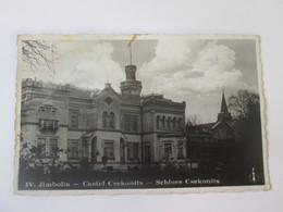 Rare! Romania/Jimbolia-Csekonits Castle/Castelul Csekonits,1939 Mailed Photo Postcard - Rumänien