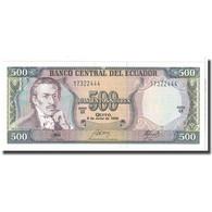 Billet, Équateur, 500 Sucres, 1988, 1988-06-08, KM:124Aa, NEUF - Ecuador