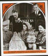 TUVALU, 1987 QUEENS WEDDING ANNIVERSARY MINISHEET MNH - Tuvalu
