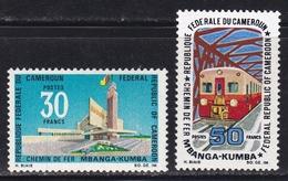 CAMEROON Trains Railway MNH** CV 3,8€ - Eisenbahnen