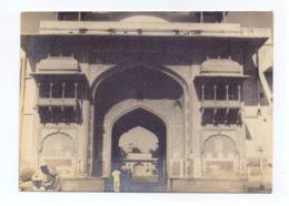 Real Photo Postcard Of Nakkar Khana (Drum House) Entrance Doors At The City Palace, Jodhpur, Rajasthan, Lot # IND 754 - India