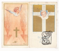 DP Christiaan E. Degloire / Peers - Deerlijk 1945 / G. Gezelle - Devotieprenten