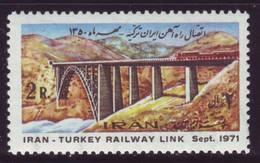 IRAN Trains Railway MNH** - Treni