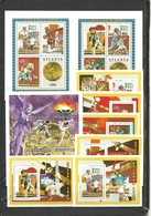 MALI  Olympics Olympic Games  Atlanta 1996 3 Sheetlets+6 Deluxe Sheets Perf. UNISSUED Rare! - Estate 1996: Atlanta