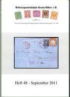 ArGe Krone / Adler Rundbrief 48 Aus 2011 - U. A. Entwicklung Des Auslandsbriefverkehrs: Frankreich Mit Algerien - Briefe U. Dokumente