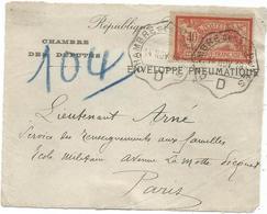 MERSON 40C SEUL PNEUMATIQUE C. ONDULE CHAMBRE DES DEPUTES D 14 NOV 1918 - 1900-27 Merson