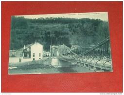 AYWAILLE  -  Pont  Suspendu Et La Heid  -  1909 - Aywaille