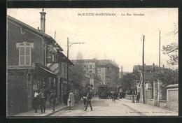 CPA Sceaux-Robinson, La Rue Houdan - Sceaux