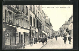 CPA Sceaux, Hotel Des Voyageurs Dans La Rue Houdan - Sceaux