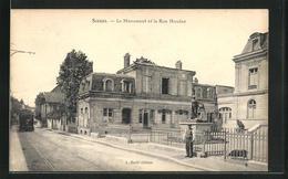 CPA Sceaux, Le Monument Et La Rue Houdan - Sceaux