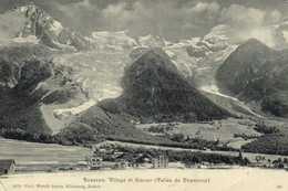 BOSSONS Village Et Glacier ( Vallée De Chamonix) RV Ambulant Chamonix à Fayet - Chamonix-Mont-Blanc